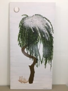Tall Tree Painting